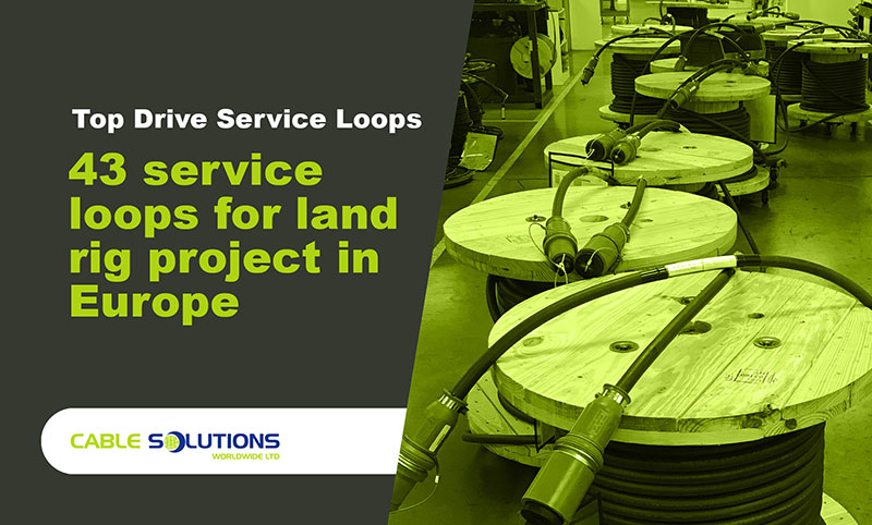 top drive loops in factory